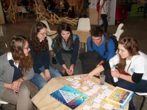 Parties de jeux avec des étudiants de Nantes
